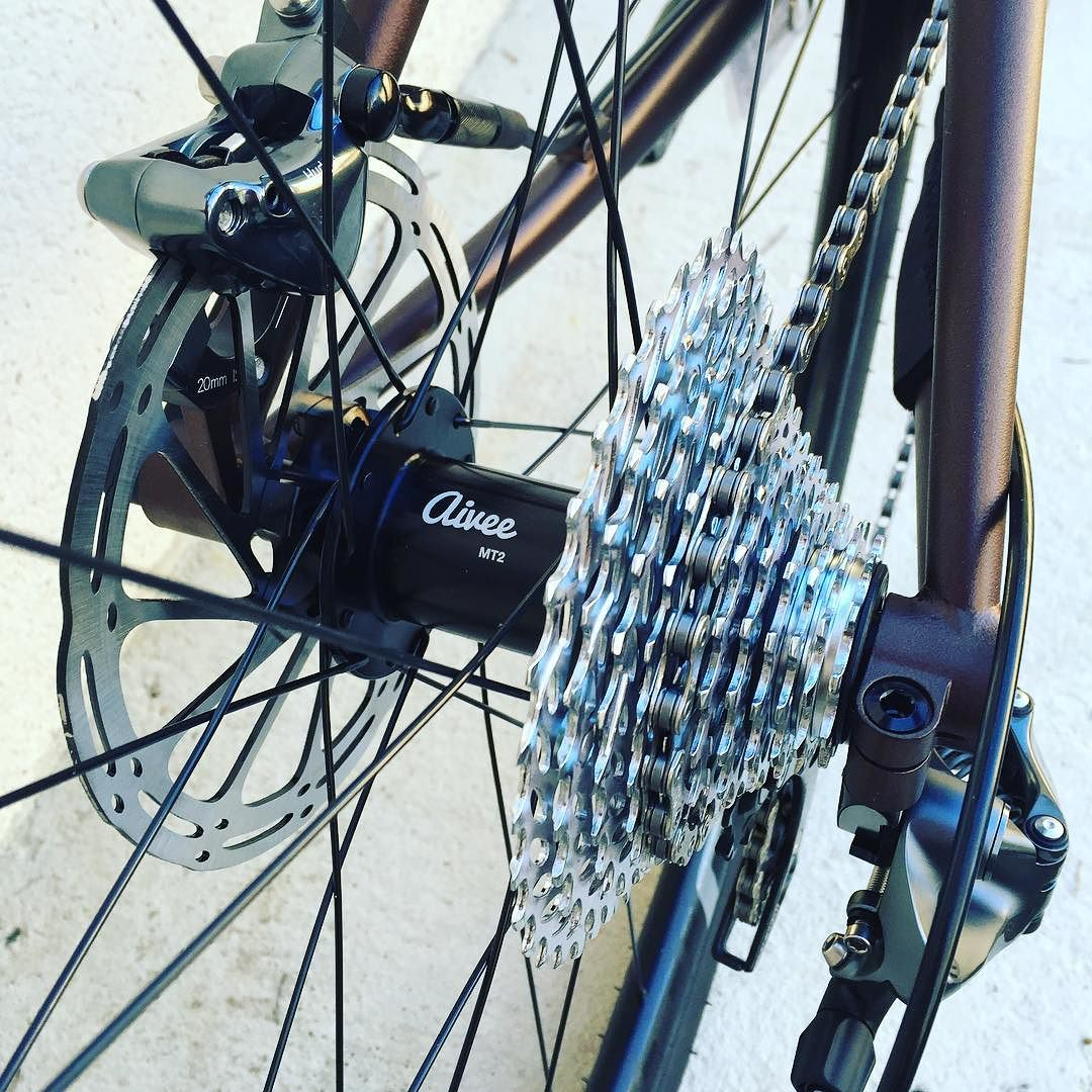Brève #gravelbike #sram #force1 #asterionwheels #gravel #caminade #madeinfrance #steelframe
