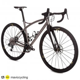 #Repost @maviccycling (@get_repost) ??? The Caminade Gravel Ti, equally at home on the rough and the smooth. #builtwithmavic #mavicallroad