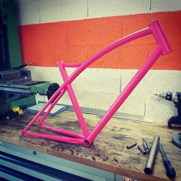 #gravel #powdercoated ral4010 mat #steelisreal