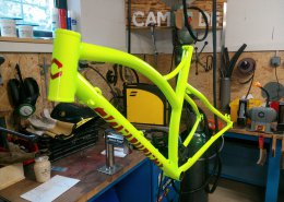 Fluo Gravel bike #happycustomer