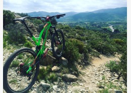 Brève #caminade #one4all #pyreneesorientales #mtb #allmountain #steelframe #bike