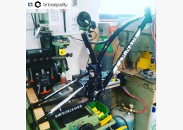 Brève #happycustomer #one4all #handmade #steelframe #mtb #madeinfrance #bike #caminade