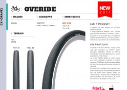 New Hutchinson Overide gravel bike tyre