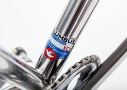 Close look at our Allroad frame, using @columbus_official XCR stainless tubes and parts