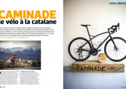Cyclist at Caminade workshop