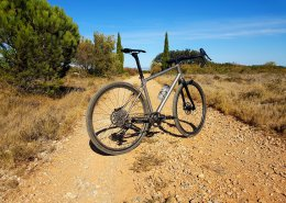 Titanium AllRoad gravel bike