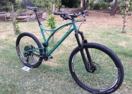 Le VTT One4All 297 acier de Guillaume