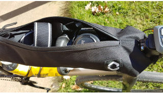 Caminade frame bags for bikepacking