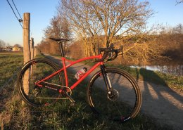 Gravel montage sur base Sram Apex1
