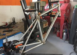 Allroad XCR en fabrication