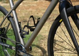 Gerard custom fit titanium gravel bike