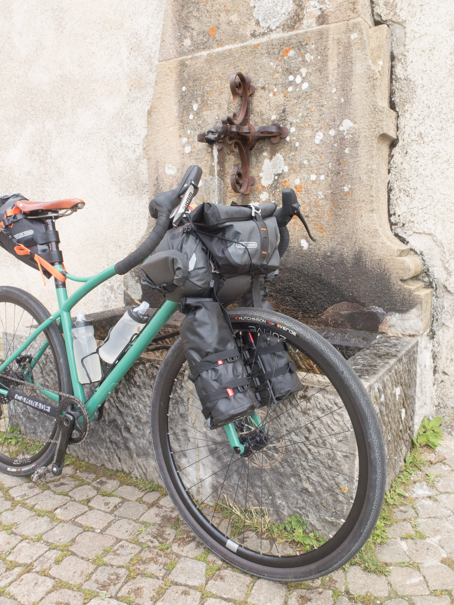 velo gravel bike caminade