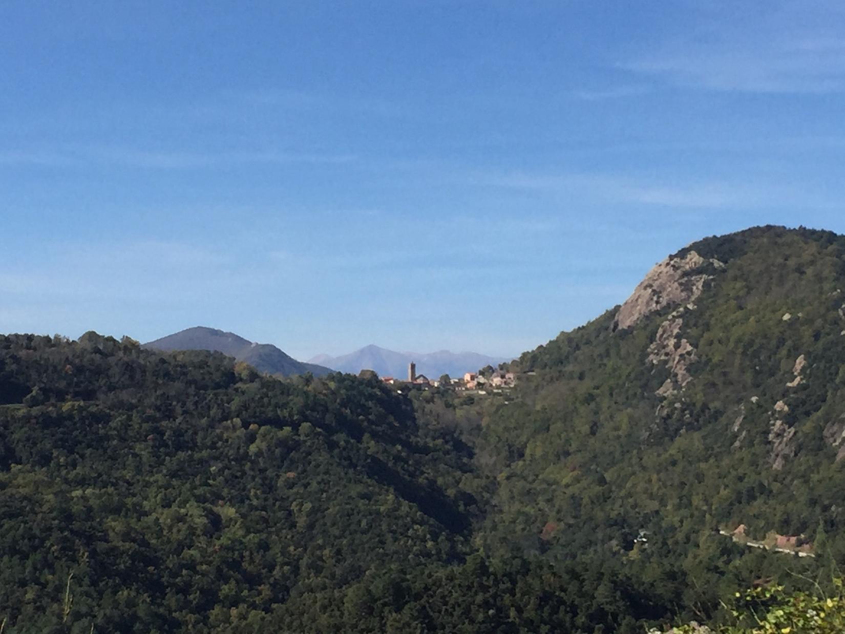 Coustouges village