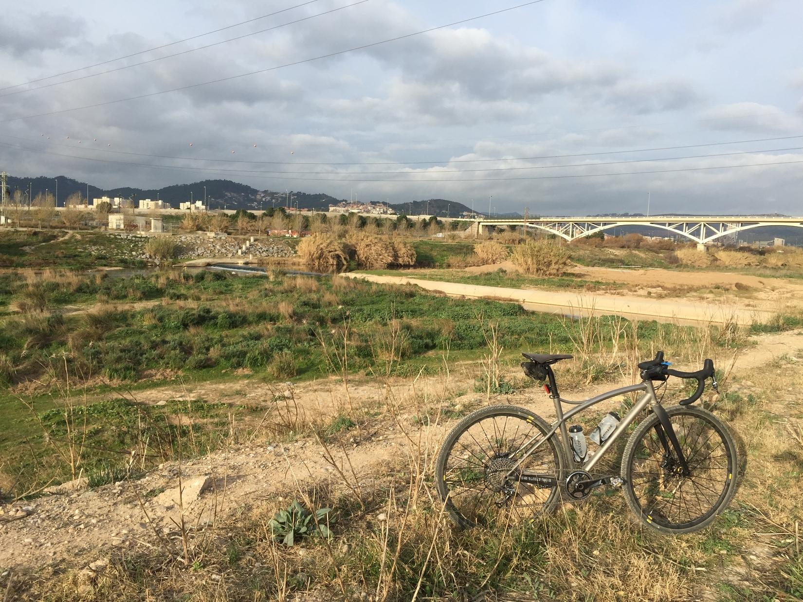 Velo Gravel Barcelone