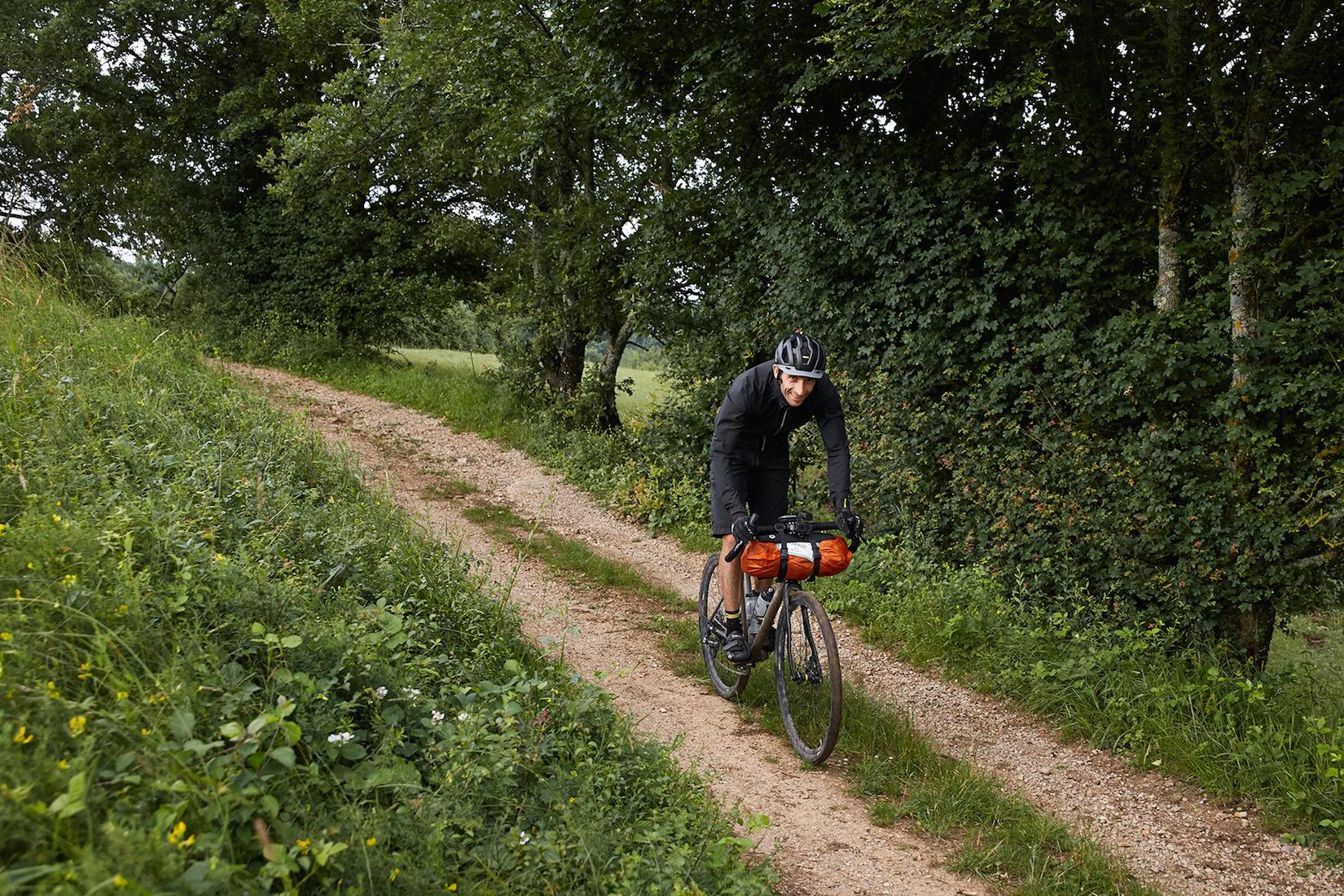 velo allroad titane bikepacking