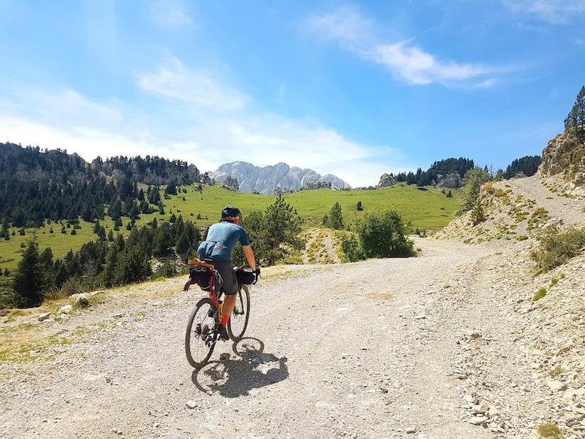 bikepacking Caminade