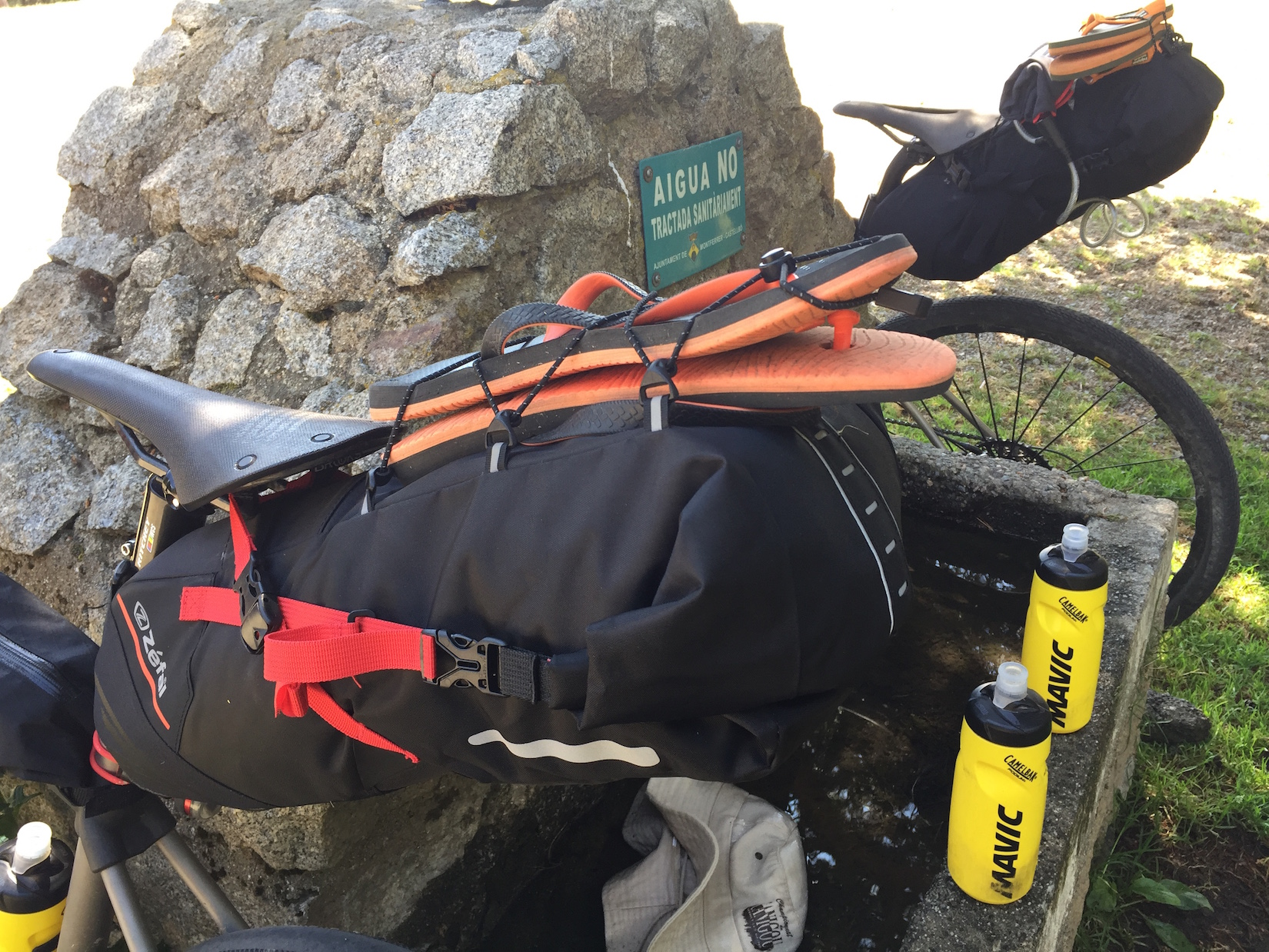 bikepacking stuff